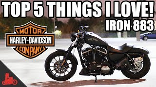 5 Things I LOVE about the Harley Iron 883 Sportster