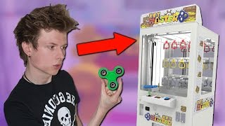 CAN I WIN THE FIDGET SPINNER AT THE ARCADE?