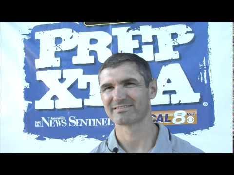 Bearden head coach Morgan Shinlever at KFOA Media Day