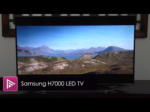 Samsung H7000 (UE40H7000) HD LED LCD TV Review