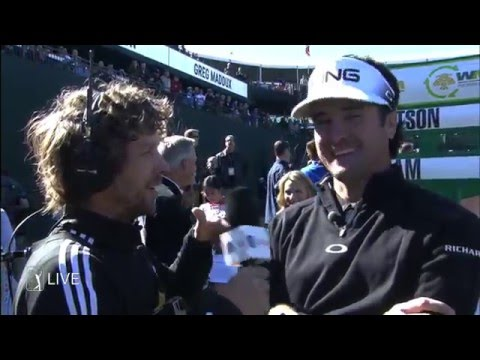Bubba Watson plays 21 questions at Waste Management