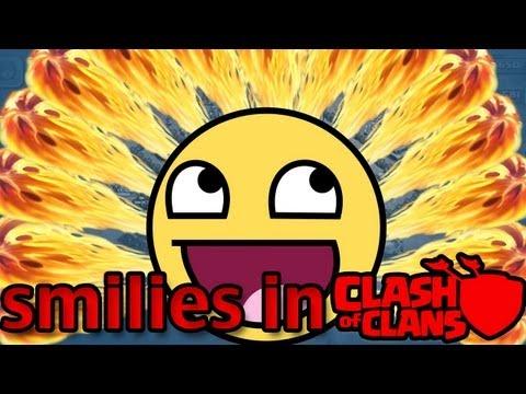 Smilies/Emoticons für Clash of Clans aktivieren