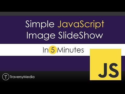 Simple JavaScript Slideshow In 5 Minutes