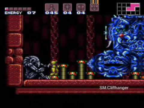 Super Metroid: Cliffhanger (video 2)