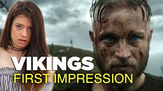 Girl Watches 'Vikings' For The First Time Ever | Season 1 Episode 1 'Rites of Passage'