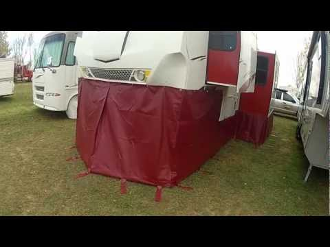 RV Skirting How To Winterize Your RV at rvskirting.com, Fifth Wheel Skirt, our rv skirting solutions