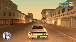 GTA Vice City - Six Star Escape (Police Station Shootout)