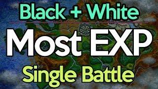 Pokemon Mega Experience   Level 1 - 58 in a Single Battle   Pokemon Black and White