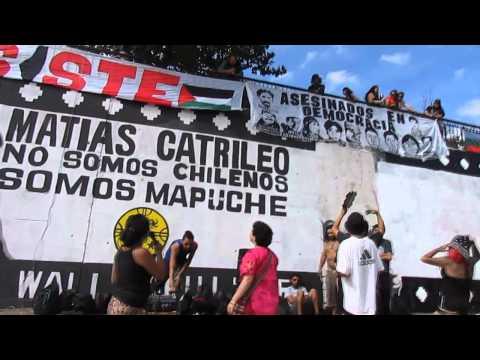 Jornada Muralista por el pueblo Mapuche en lucha