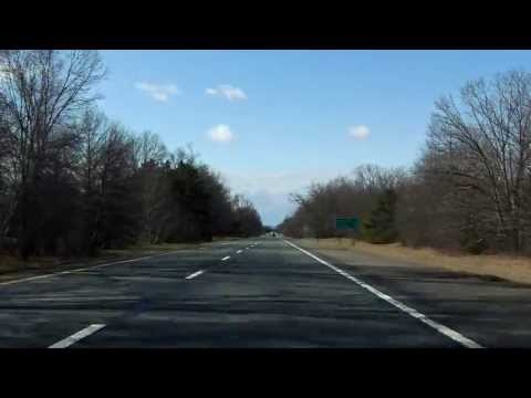 Interstate 91 - Massachusetts (Exits 26 to 22) southbound