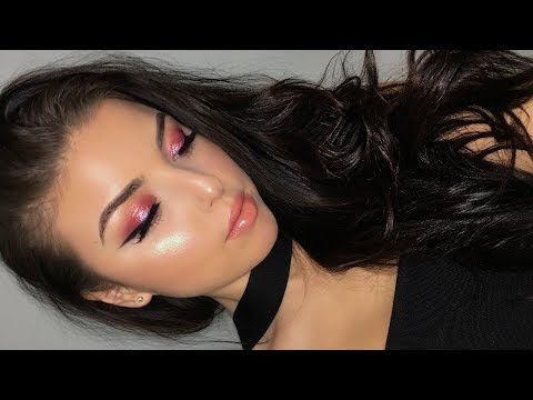 Valentines Day Makeup | Pink Glam Tutorial