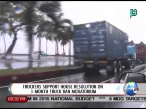 NewsLife: Truckers support House resolution on 3-month truck ban moratorium || Aug. 21, '14