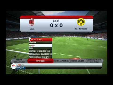 Demo Fifa 13 - Comentado [br] ( 9500gt ) ( Max Settings )