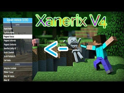 New Minecraft PE Xanerix V4 Mod Menu +Download