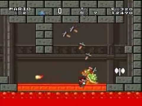 "SMW Hack: ""Bowser"