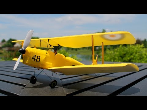 Ares Tiger Moth 75 RTF Review  Part 1, Intro and Flight