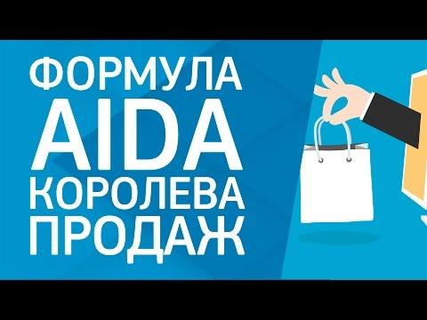 Формула AIDA королева продаж