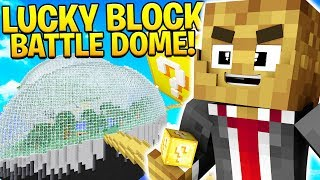 LUCKY BLOCK MINECRAFT MODDED BATTLEDOME - MINECRAFT MOD CHALLENGE