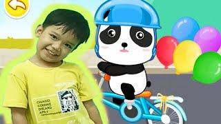 Bé học tên các loại phương tiện giao thông với game baby bus Kênh trẻ em - video cho bé yêu