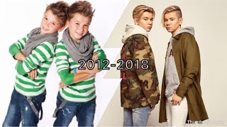 Marcus & Martinus 2012-2018 live preformens evolution (bonus video!)