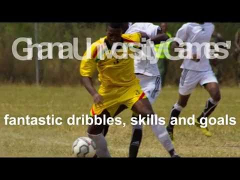 Fantastic skills, dribbles and goals @Ghana Universities Mens Soccer Games 2016.