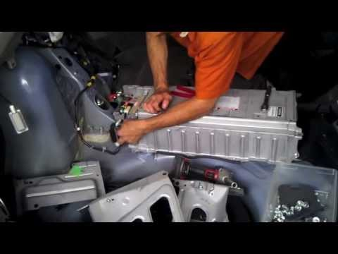 Prius Gen2 (2004 05 06 07 08 09) Hybrid Battery removal