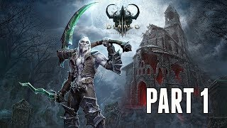 Diablo 3 Necromancer Campaign Walkthrough Part 1 - New Class & Intro (PS4 Pro Gameplay)