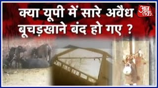 Special Report On Aaj Tak's Sting Operation On Slaughter Houses In UP