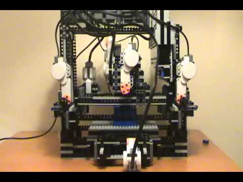 MakerLegoBot: Lego Mindstorms NXT 3D Lego Printer
