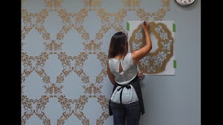 (2.83 MB) How to Stencil a Feature Wall in Only an Hour Mp3