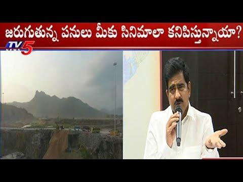 పోలవరంపై విపక్షాల విమర్శలు సరికాదు-దేవినేని ఉమ | AP Minister Devineni Uma Press Meet | TV5 News