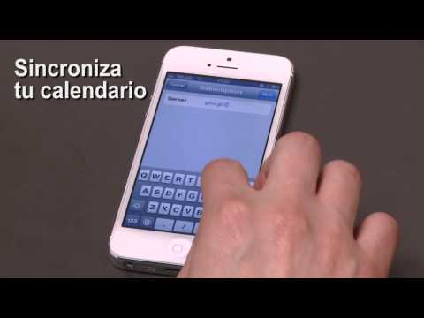 Sincroniza tu calendario en tu iPhone