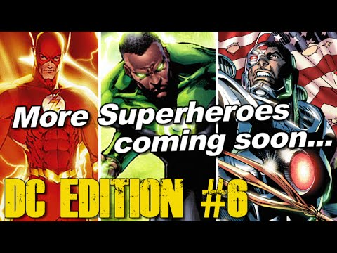 Cyborg, Green Lantern, The Flash coming... - [DC EDITION #6]