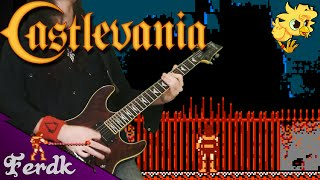 """Castlevania - """"Wicked Child"""" 【Metal Guitar Cover】 by Ferdk"""