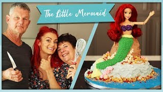 How to make a Little Mermaid Cake ft. Dianne's Mother
