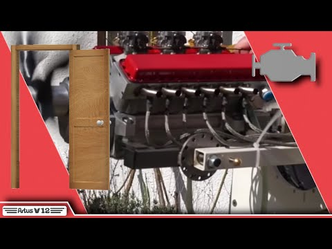 mini V12 Motor private Präsentation