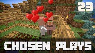 Chosen Plays Minecraft 1.13 Ep. 23 Simple Villager Breeder