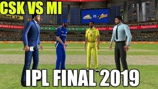 CSK VS MI IPL FINAL 2019  IN REAL CRICKET 19 GAMEPLAY