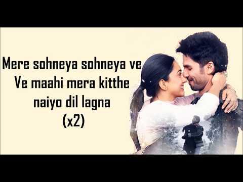 Download Lagu  MERE SOHNEYA S | Kabir Singh | Shahid Kapoor, Kiara Advani | Sachet-Parampara | Mp3 Free