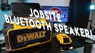 Dewalt Jobsite Bluetooth Speaker Review!