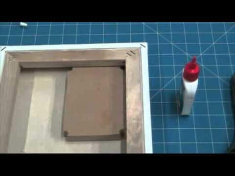How to repair canvas