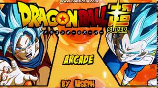 Dragon Ball Super Mugen JUS - Beta Gameplay 9.93 MB