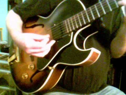 Dancing On the Ceiling: Gibson ES-165 Herb Ellis Demo