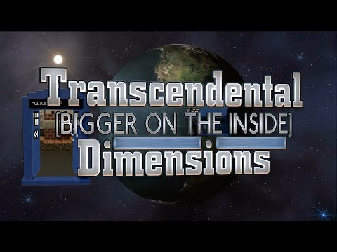 Transcendental Dimensions Update #1 Real Minecraft TARDIS