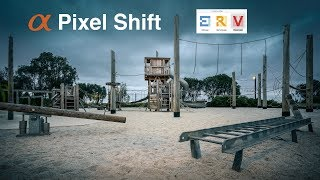 Sony Pixel Shift Multi Shooting: Editing a file in Imaging Edge & Photoshop CC