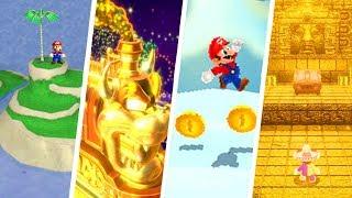 Evolution of Secret Bonus Levels in Super Mario Games (1985 - 2018)