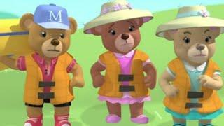 Bears on a Boat - Cartoon Jumble - Bananas In Pyjamas Official