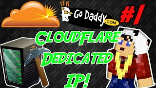 CloudFlare/GoDaddy - Minecraft Server