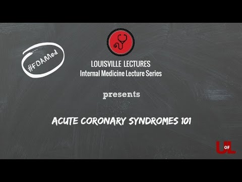 Acute Coronary Syndrome 101 with Dr. Brown thumbnail