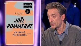 Joël Pommerat - On n'est pas couché 21 novembre 2015 #ONPC